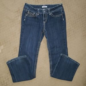 Boot cut BONGO Jeans Sz. 13 Embroidered